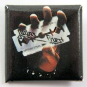 Judas Priest - 'British Steel' Square Badge